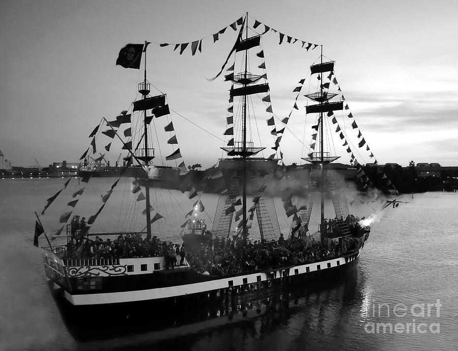 Pirates Photograph - Gang Of Pirates by David Lee Thompson