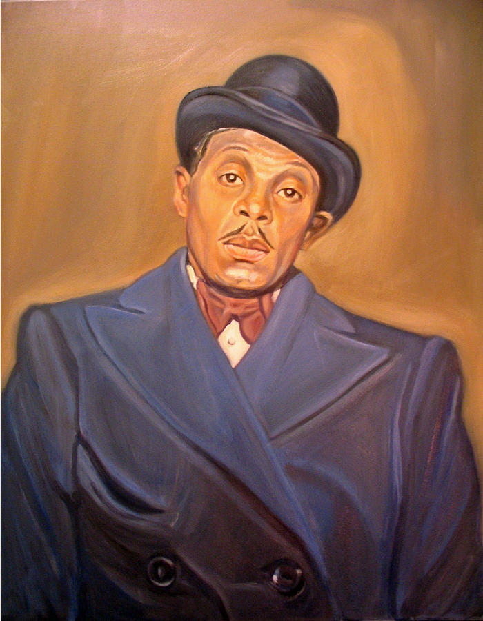 Portrait Painting - Gangster by Morris T Howard