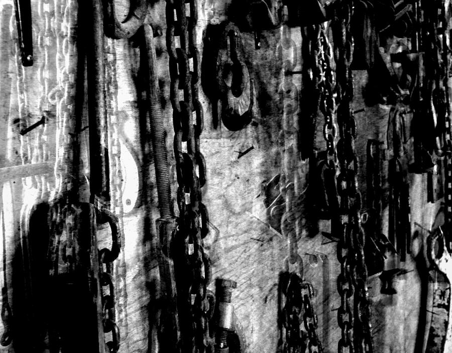 Garage Photograph - Garage Days by Matthew Robbins