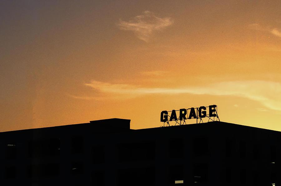 City Life Photograph - Garage by Kelly E Schultz