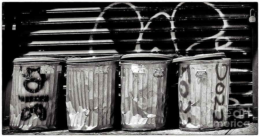 Garbage Photograph - Garbage by Madeline Ellis