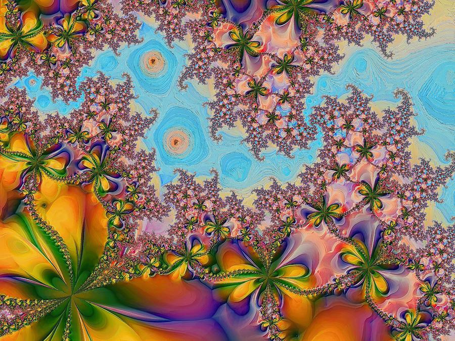 Garden Digital Art - Garden 2 by Alexandru Bucovineanu