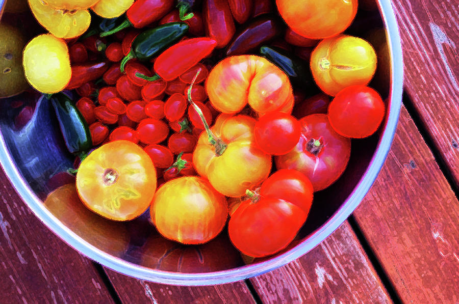 Garden Photograph - Garden Abundance 2 by Merrill Miller