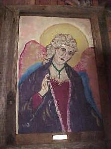 Garden Angel Painting by John Durham