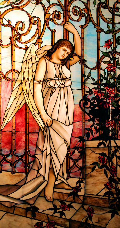 Angel Photograph - Garden Angel by Kristin Elmquist