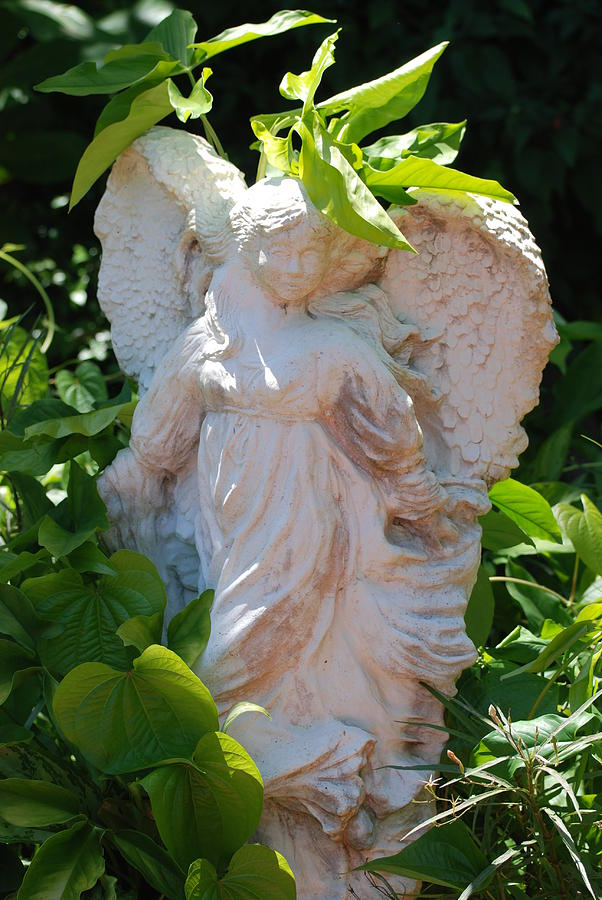 Angels Photograph - Garden Angel by Rob Hans