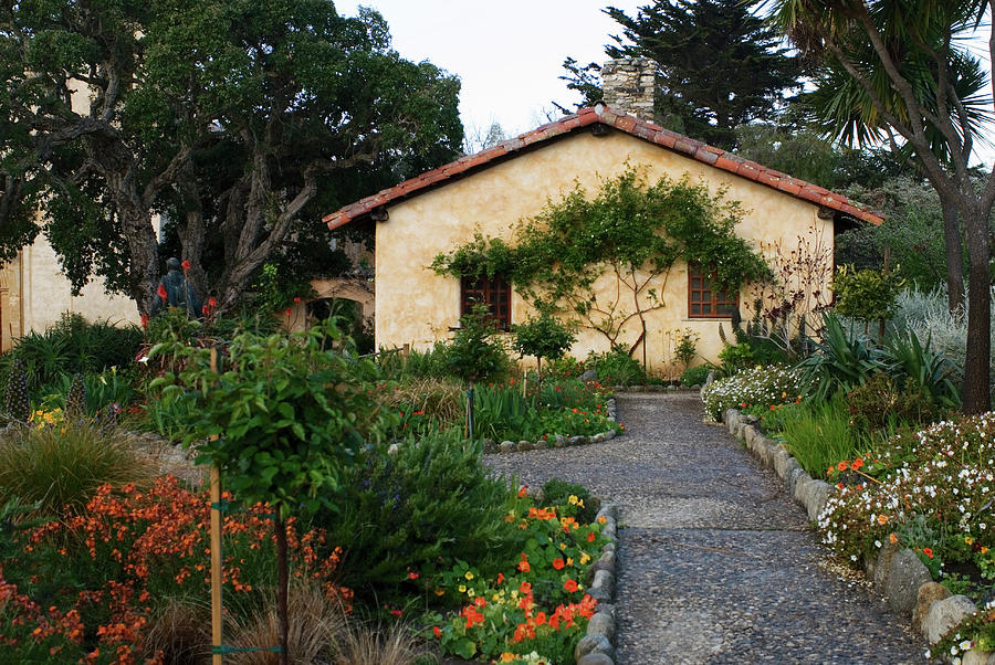 Garden at Mission San Carmel by Renee Hong