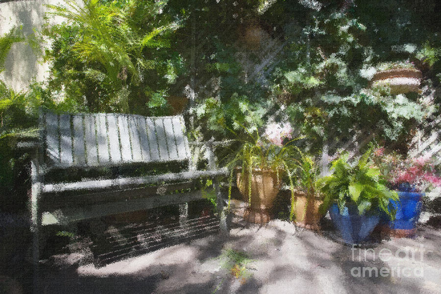 Garden Bench Photograph by Sheila Smart Fine Art Photography