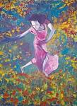 Dance Painting - Garden Dance by Sean MacKinzie
