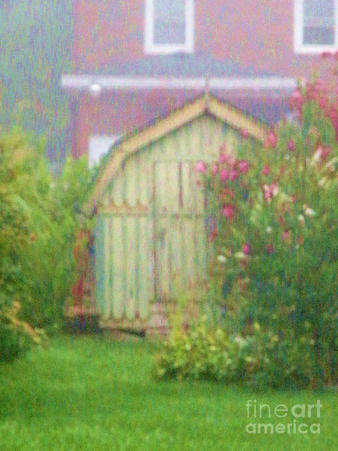 Flower Garden Daybreak Photograph - Garden Daybreak by Christine Belt