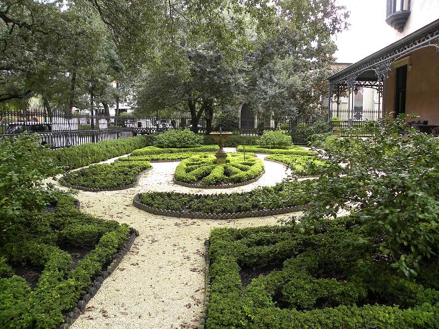 Savannah Photograph - Garden Design by Kim Zwick