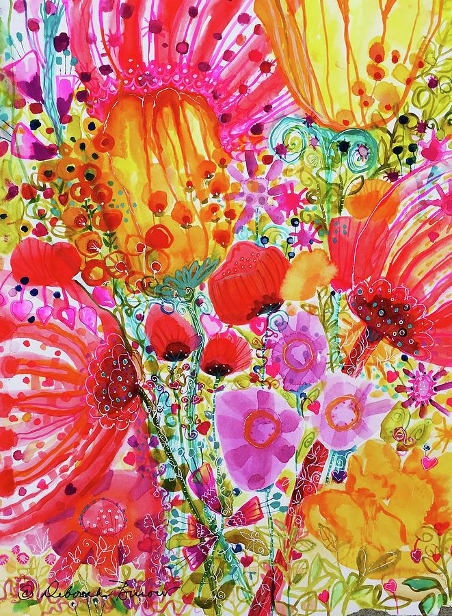 Garden doodles by DEBORAH BUROW