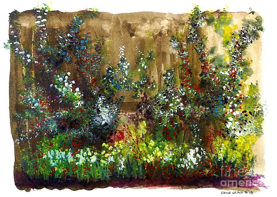 Garden Fence by David Neace
