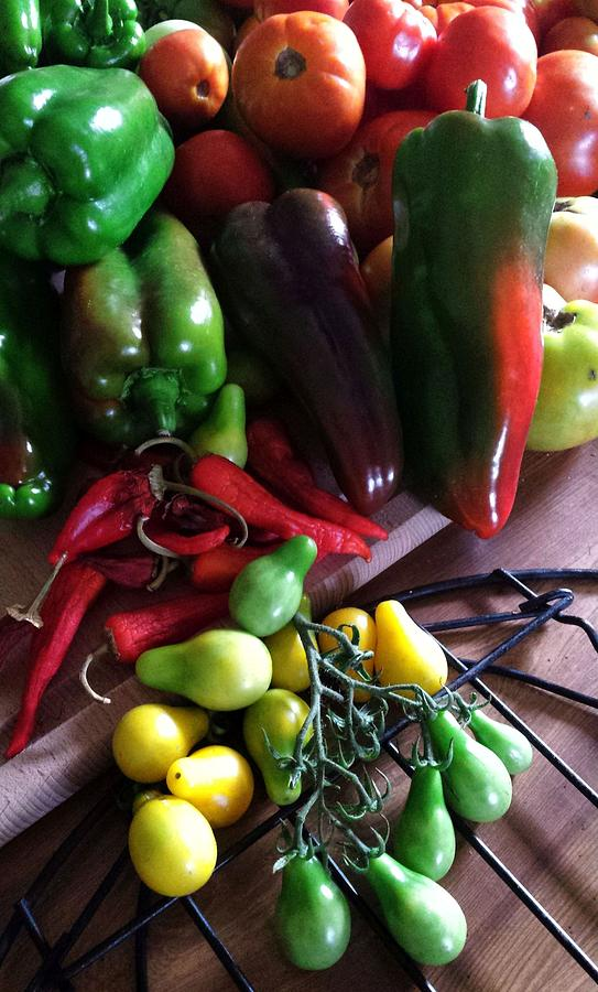 Garden Fresh Produce by Deb Martin-Webster