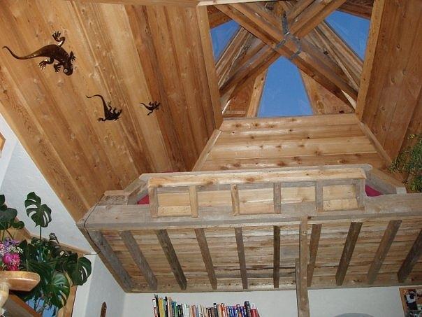 Skylights Mixed Media - Garden Gallery Interior Skylights by Leizel Grant