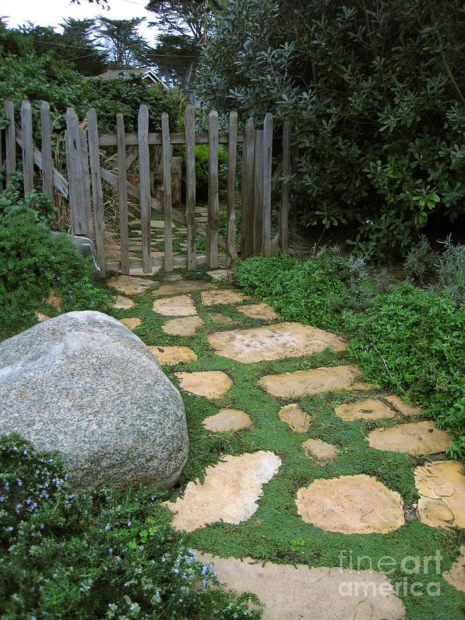 Garden Gate Photograph