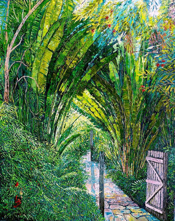 Garden Gate by Linda J Bean
