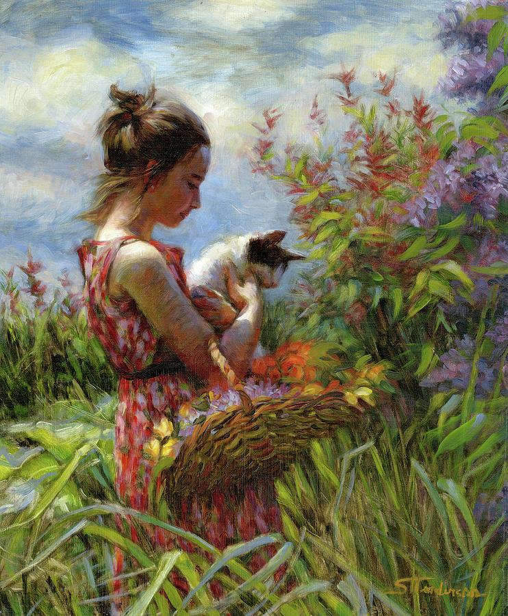 Garden Gatherings Painting