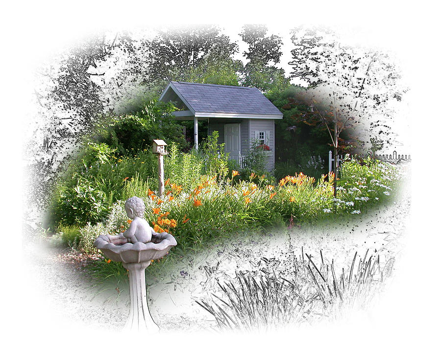 Garden House by Ann Lauwers