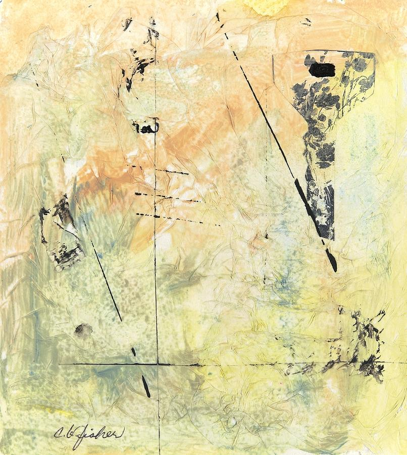 Abstract Painting - Garden Key by Constance Fisher