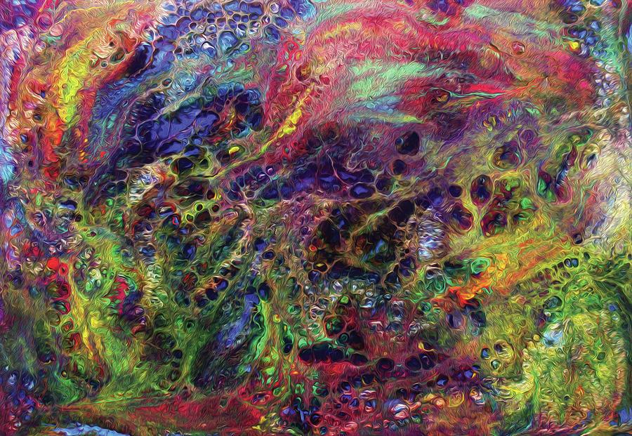 Garden Of Colorful Delight Digital Art
