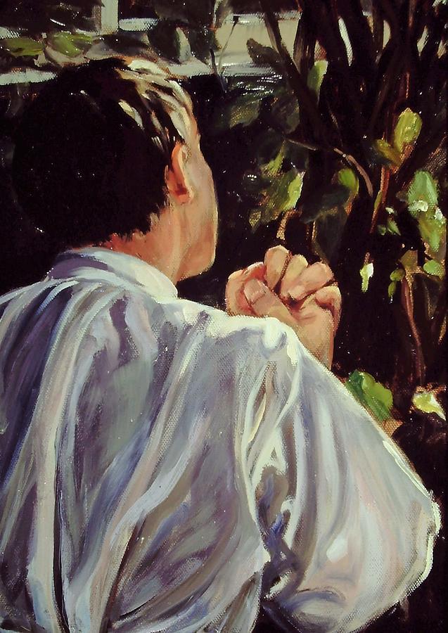 Garden Of Contemplation by Beverly Klucher