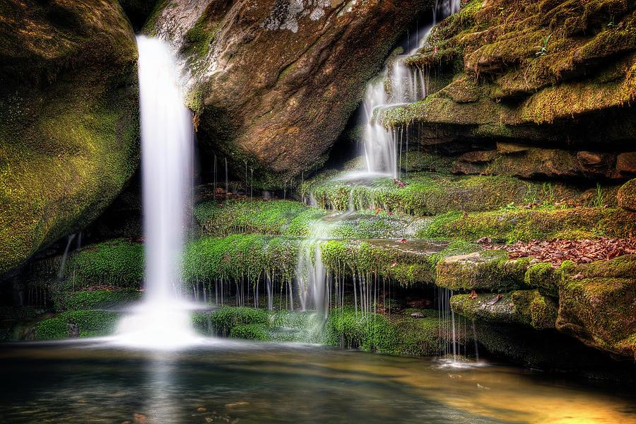 Waterfall Photograph - Garden Of Eden by Tamyra Ayles