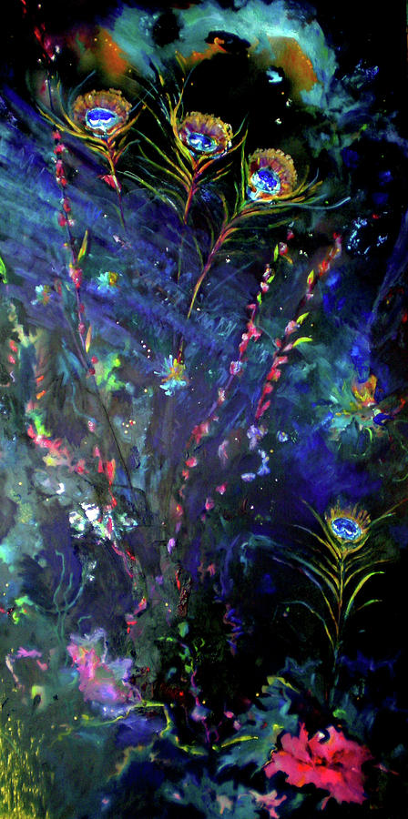 Oil Painting - Garden Of The Deep by KC Moore