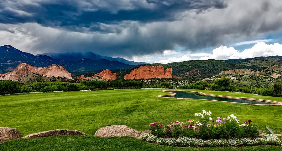 Garden Of The Gods Golf Course Photograph by Mountain Dreams