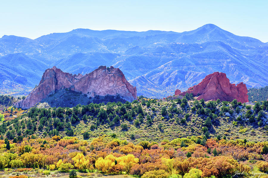 Garden of the Gods in Colorado Springs, Colorado by Jack Nguyen