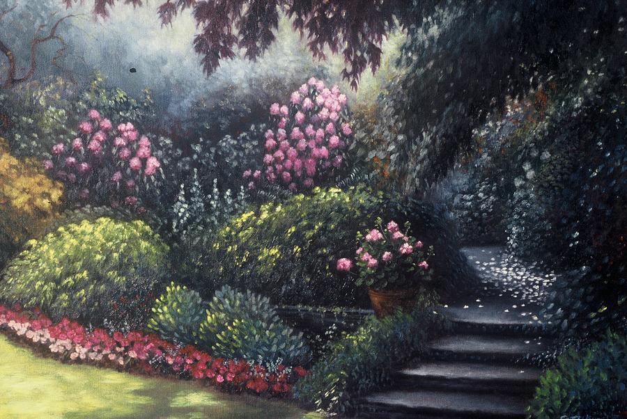 Garden Painting - Garden Path by Scott Jones