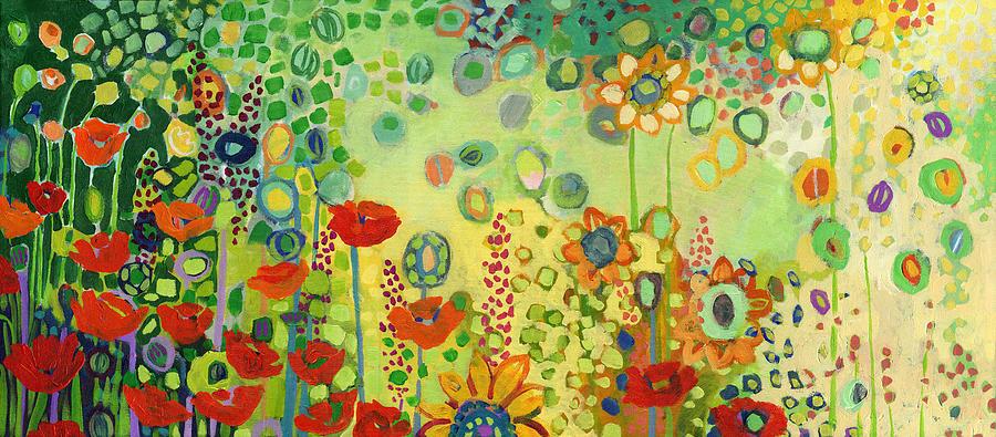 Garden Poetry Painting