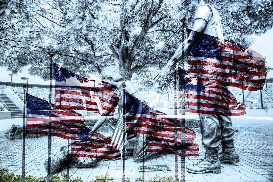 Recent Photograph   Garden State Art Center Vietnam War Memorial Series In  Holmdel, Nj By
