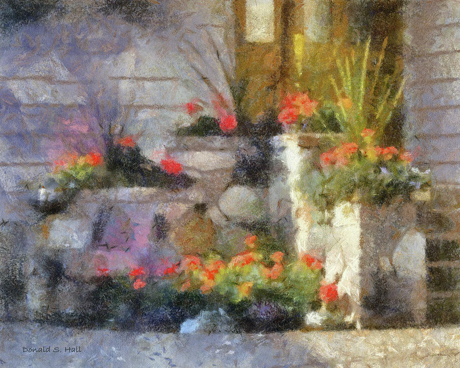 Garden Steps by Donald S Hall