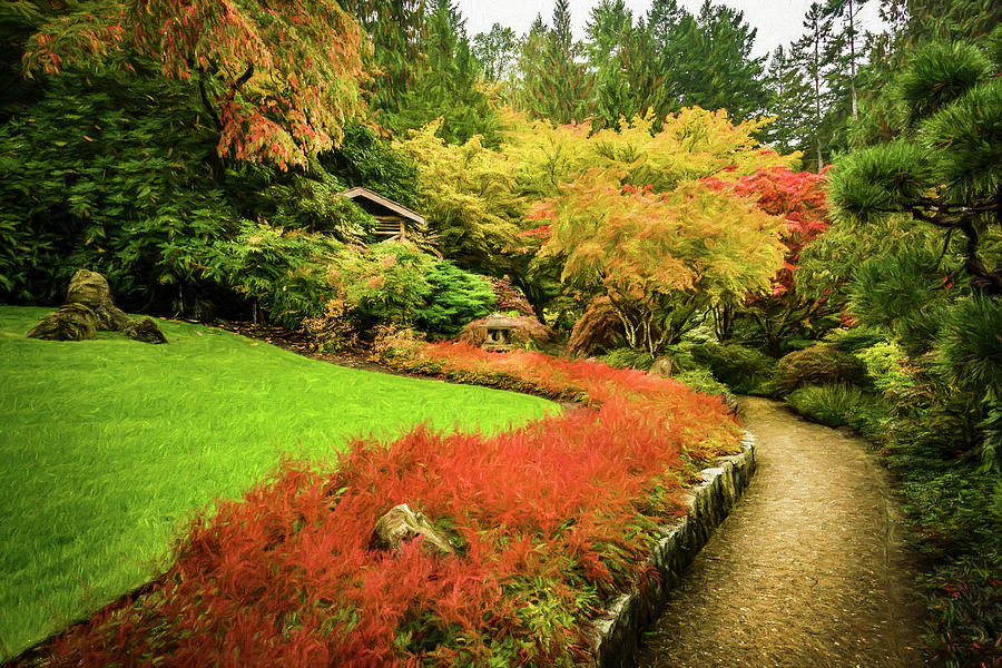 Garden Walk by Steven Sparks