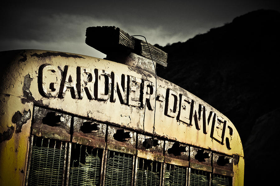 Industrial Photograph - Gardner Denver by Merrick Imagery