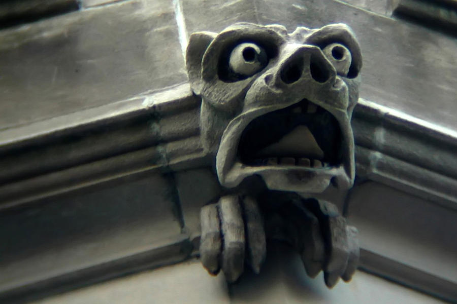 Gargoyle Photograph - Gargoyle by David April