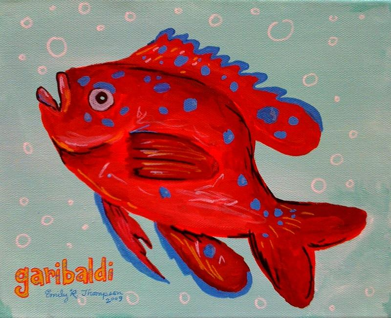 Garibaldi Painting by Emily Reynolds Thompson