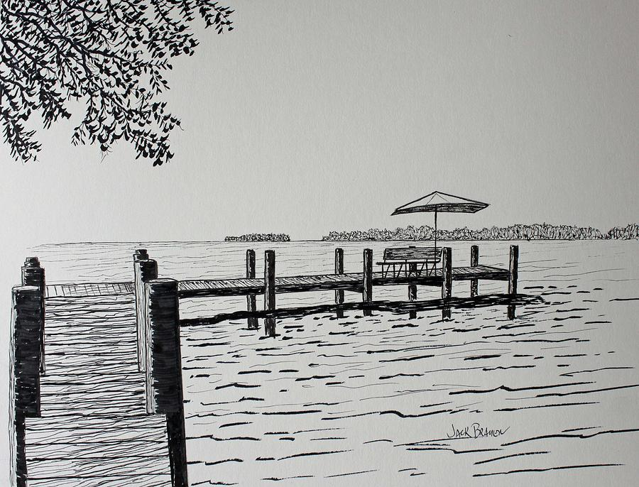 Garlic island lake winnebago drawing by jack g brauer jack brauer drawing garlic island lake winnebago by jack g brauer freerunsca Gallery