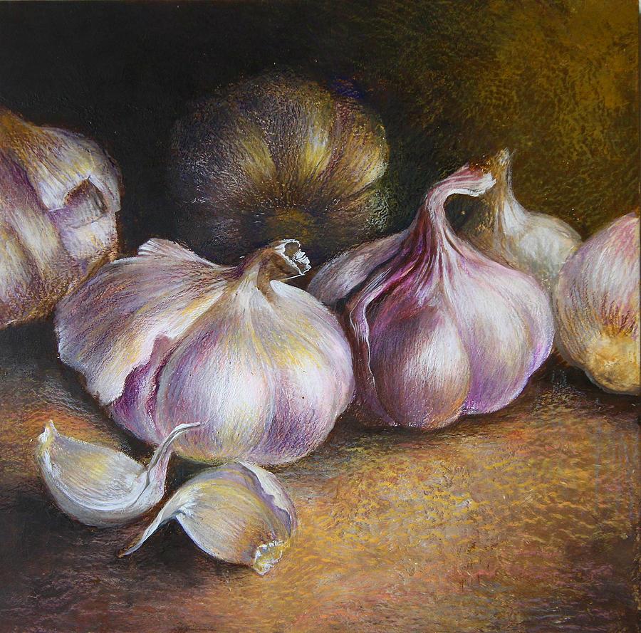 Если человек долго не выздоравливает Garlic-painting-vali-irina-ciobanu