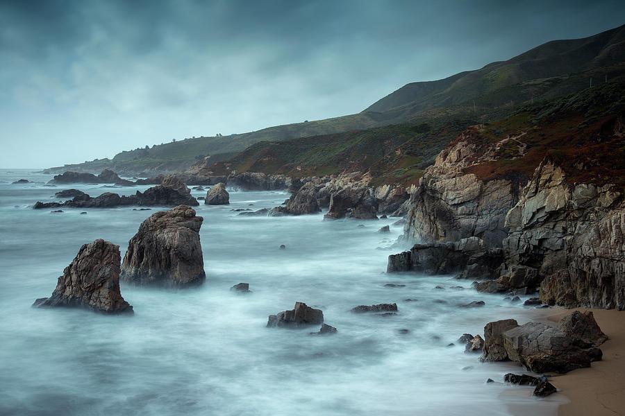 Garrapata Photograph - Garrapata Beach, Big Sur, California by David Stanley
