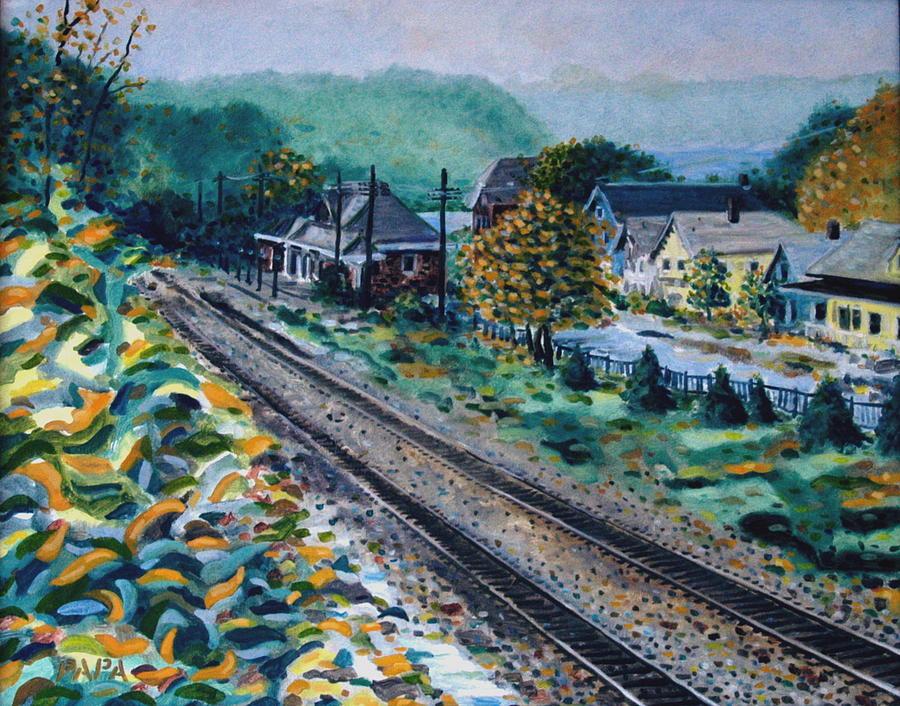Garrison Painting - Garrison Station by Ralph Papa