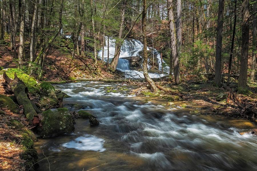 Garwin Falls Spring Run Off by MIKE MCQUADE