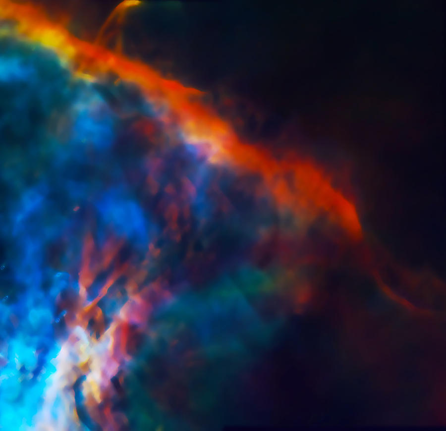 Nebula Photograph - Gas Plume Orion Nebula 2 by Jennifer Rondinelli Reilly - Fine Art Photography