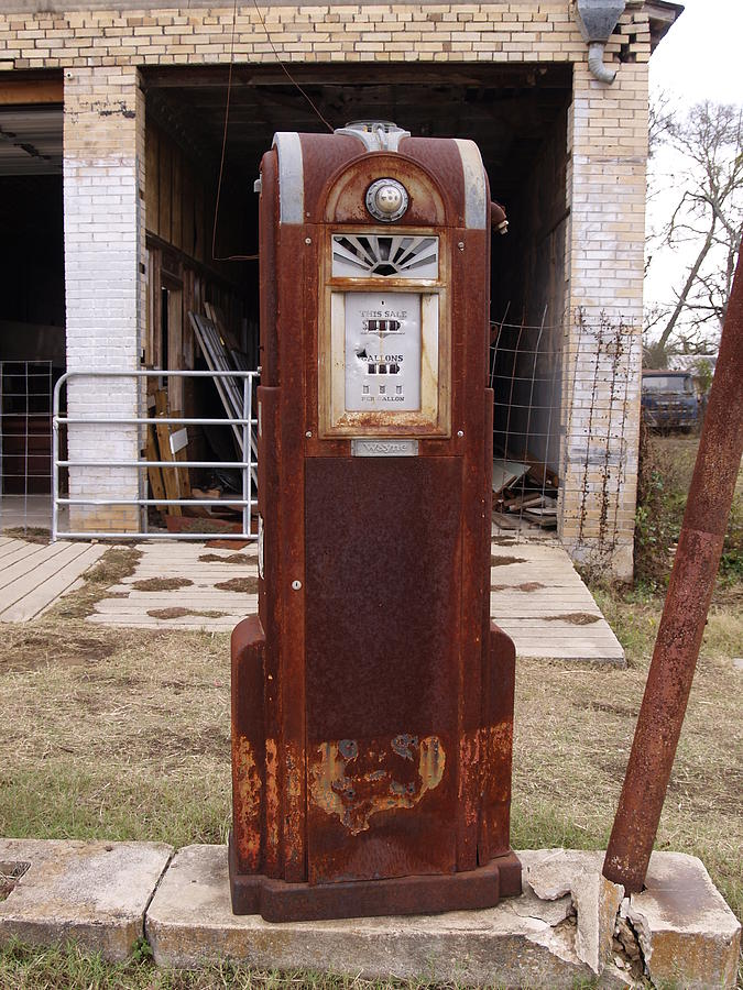 Gas Pump Photograph by James Granberry