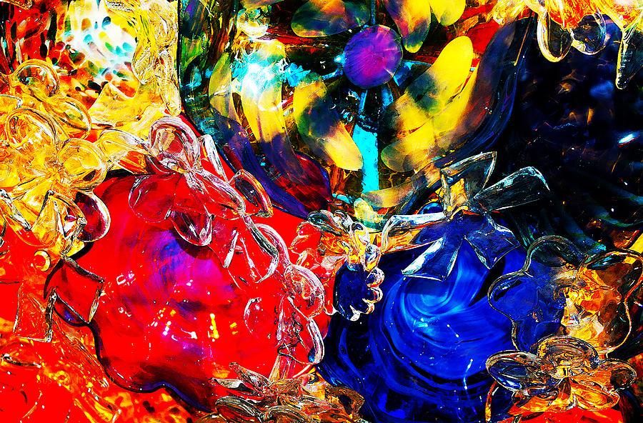 Glass Photograph - Gass Art by Susan Vineyard