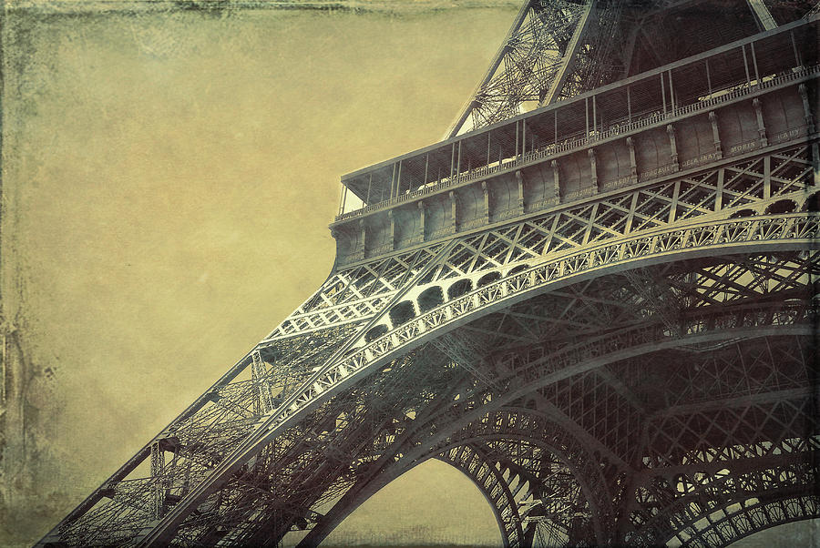 Paris Photograph - Gastaves Recognition Grunge by JAMART Photography