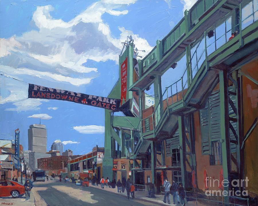 Fenway Painting - Gate C by Deb Putnam