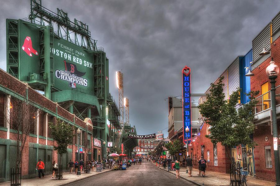 Red Sox Photograph - Gate E - Fenway Park Boston by Joann Vitali