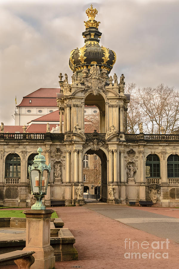 Gate Of Zwinger Photograph